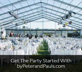 Get the party started with byPeterandPauls.com