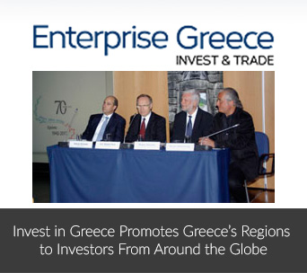 Invest in Greece Promotes Greece's Regions to Investors From Around the Globe