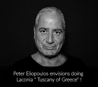 "Peter Eliopoulos envisions doing Laconia ""Tuscany of Greece""!"
