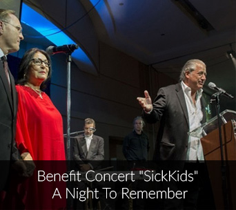 "Benefit Concert ""Sickkids"" A night to remember"