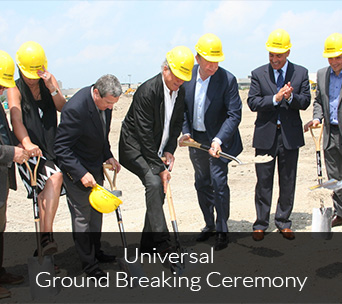Universal Ground Breaking Ceremony