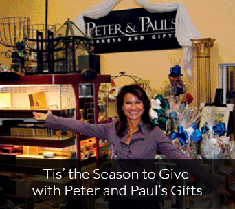 Tis' the season to give with Peter and Paul's Gifts