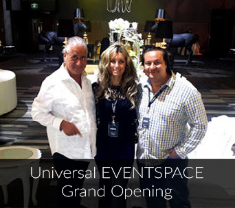 Universal EVENTSPACE Grand Opening
