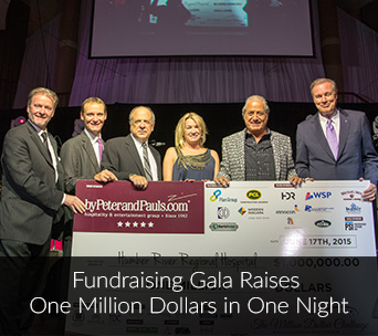 Fundraising Gala Raises One Million Dollars in One Night