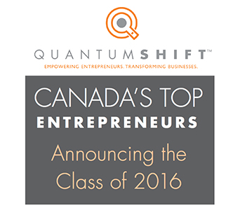 Canada's Top Entrepreneurs: Announcing the Class of 2016
