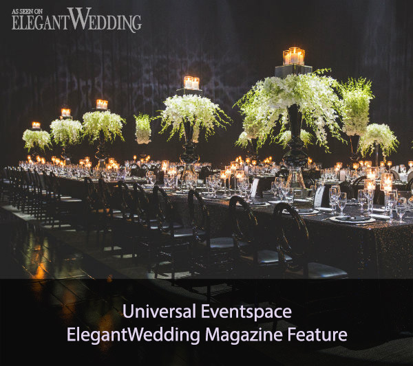 Universal Eventspace ElegantWedding Magazine Feature